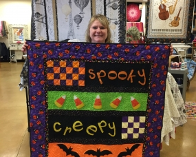 This Cute Quilt is a Halloween Treat!