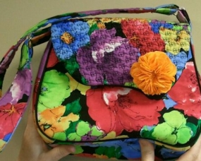 Texture Magic Purse